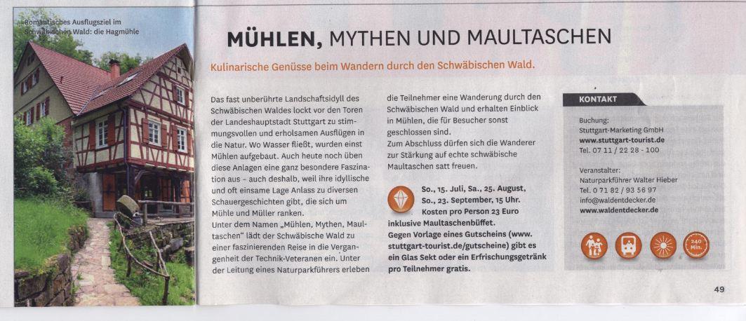 Walter Hieber - Naturparkführer, Waldentdecker im Schwäbisch ...